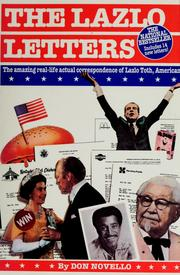 Cover of: The Lazlo letters by Don Novello