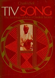 Tiv song by Charles Keil