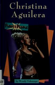 Cover of: Christina Aguilera | Wendy Tokunaga