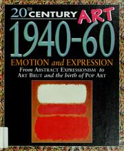 Cover of: 20th century art, 1940-60 | Jackie Gaff