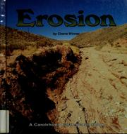 Cover of: Erosion | Cherie Winner
