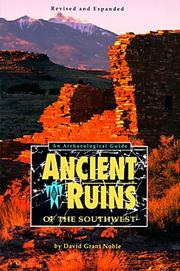 Cover of: Ancient ruins of the Southwest