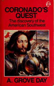 Cover of: Coronado's quest by A. Grove Day