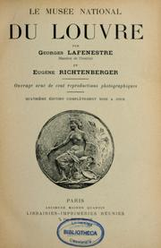 Cover of: Le Musée national du Louvre by Georges Lafenestre