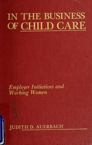 In the business of child care