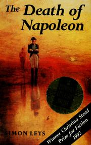 Cover of: The death of Napoleon by Simon Leys