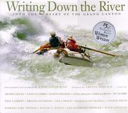 Cover of: Writing down the river
