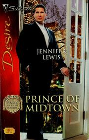 Cover of: Prince of Midtown by Jennifer Lewis