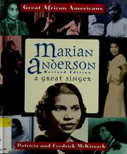 Cover of: Marian Anderson | Pat McKissack