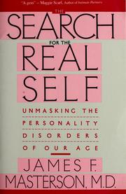 Cover of: Search For The Real Self  | James F. Masterson