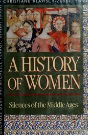 Cover of: A history of women in the West |
