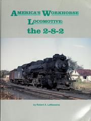 Cover of: America's workhorse locomotive by Robert A. LeMassena