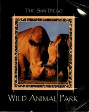Cover of: The San Diego wild animal park by Karen E. Worley
