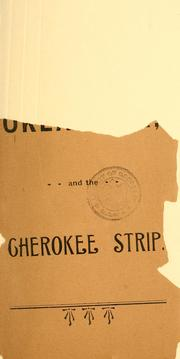 Cover of: Oklahoma and the Cherokee strip by