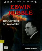 Edwin Hubble by Claire L. Datnow