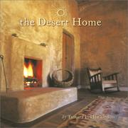 Cover of: The Desert Home