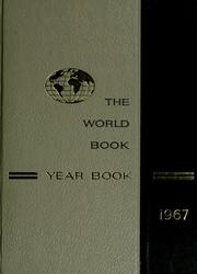 Cover of: The 1967 World book year book by
