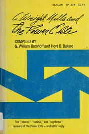 C. Wright Mills and The power elite