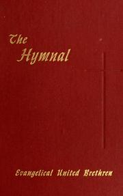 Cover of: The Hymnal of the Evangelical United Brethren Church |