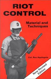 Cover of: Riot control