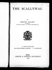 Cover of: The scallywag | Grant Allen