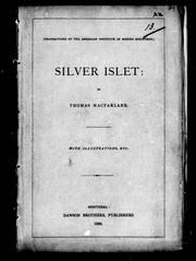 Cover of: Silver Islet by Thomas Macfarlane