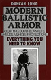 Cover of: Modern ballistic armor