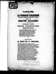Cover of: Cantate by A. Bellemare