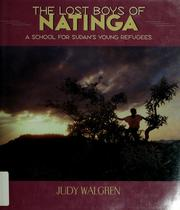 The lost boys of Natinga by Judy Walgren