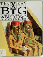 Cover of: The X-ray picture book of big buildings of the ancient world | Joanne Jessop