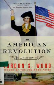 Cover of: The American Revolution | Gordon S. Wood