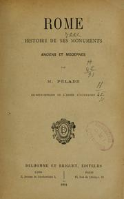 Cover of: Rome | Pélade