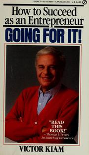 Cover of: Going for it! | Victor Kiam