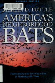 America's neighborhood bats