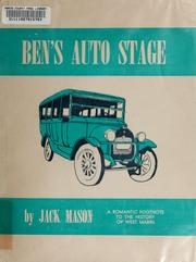Cover of: Ben's auto stage | Jack Mason