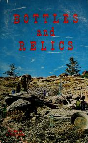 Cover of: Bottles and relics | Marvin Davis
