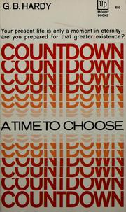 Cover of: Countdown by George B. Hardy