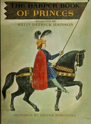 Cover of: The Harper book of princes