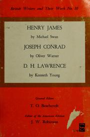 Cover of: Henry James by Michael Swan