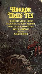 Cover of: Horror times ten | Alden H. Norton