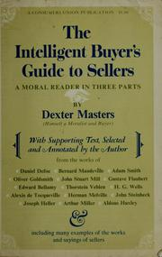 Cover of: The intelligent buyer's guide to sellers by Dexter Masters