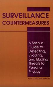 Cover of: Surveillance Countermeasures