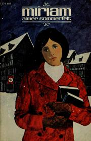 Cover of: Miriam by Aimée Sommerfelt