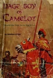 Cover of: Page boy of Camelot by Eugenia Stone