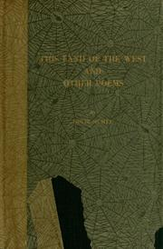 Cover of: This land of the west and other poems | Nolie Mumey