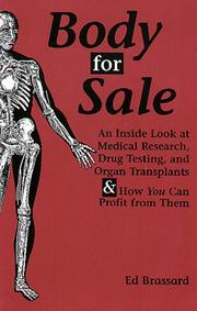 Cover of: Body for sale