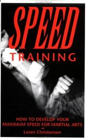 Cover of: Speed training