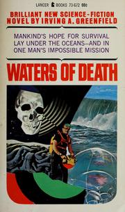 Cover of: Waters of death | Irving A. Greenfield