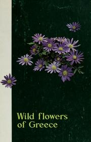 Cover of: Wild flowers of Greece | D. Phitos