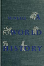 Cover of: A world history | William Hardy McNeill